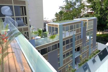 une-VUE 2  depuis la terrasse