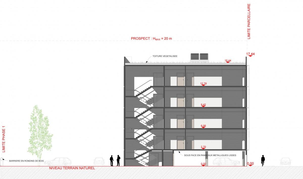 CONSTRUCTION DE TROIS BATIMENTS DE BUREAUX