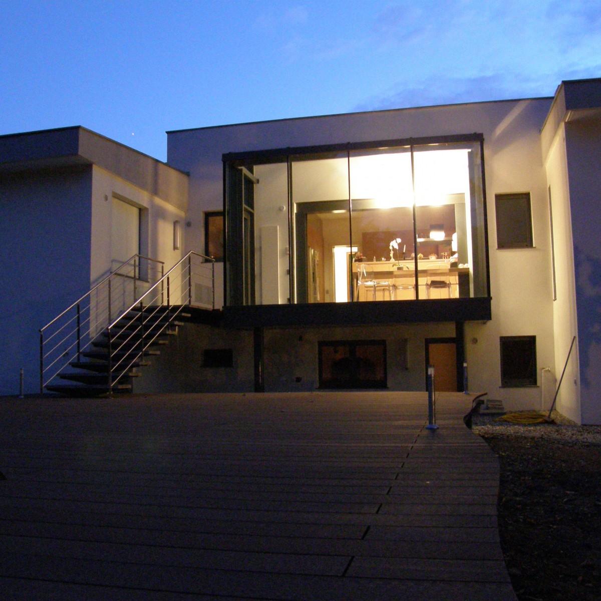 Restructuration et extension d une villa oberhausbergen for Extension maison 67